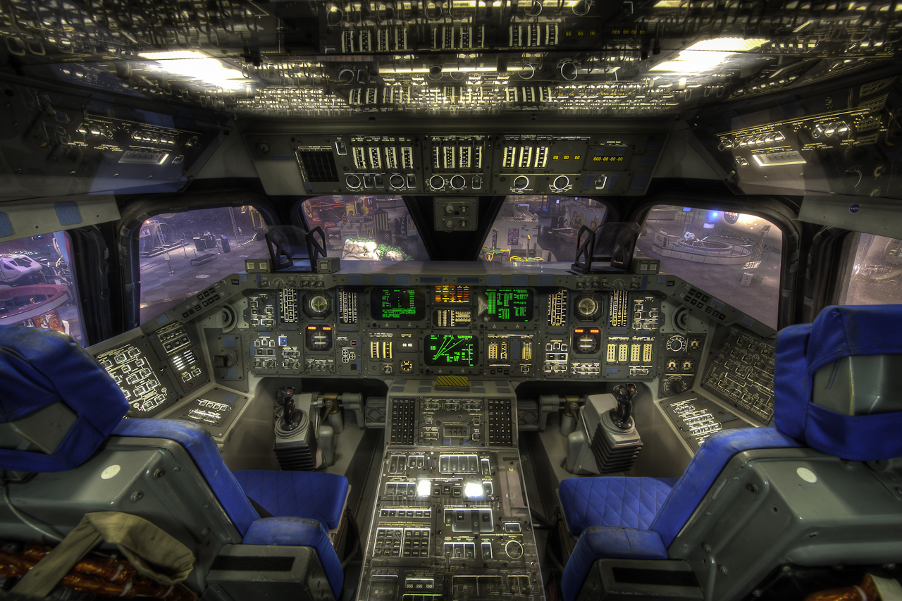 space shuttle home cockpit - photo #2