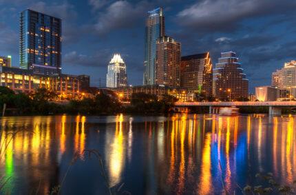 Austin Skyline Panorama