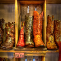 Vintage Cowboy Boots, Wimberley