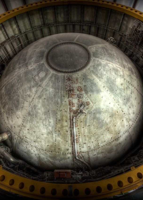 Second Stage Tank, Saturn V