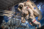 Astronaut and MMU, Space Center Houston